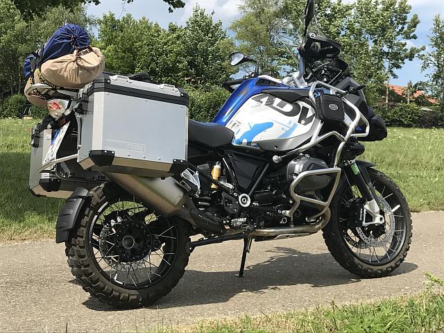 Motorradtour Piemont